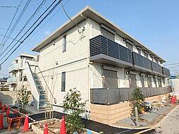 群馬県太田市小舞木町の賃貸アパートの外観
