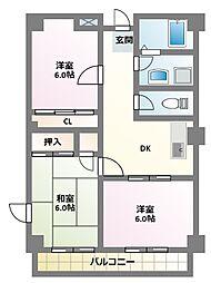 グレイス原宿I[3階]の間取り