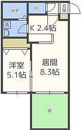 クレステージN31[1階]の間取り