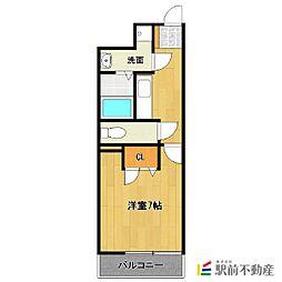 アクセス第7ビル[406号室]の間取り