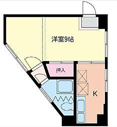クスノキビル[2階]の間取り