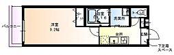 フジパレス横堤III番館[3階]の間取り