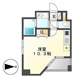 GRANDUKE東別院crea(クレア)[5階]の間取り