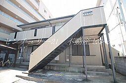岡山県岡山市北区大和町2丁目の賃貸アパートの外観