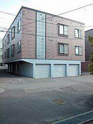 北海道札幌市東区北二十二条東15丁目の賃貸アパートの外観
