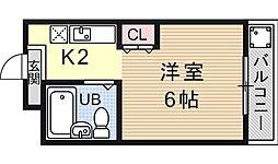PRESTAGE MISASAGI(プレステージミササギ)[402号室号室]の間取り