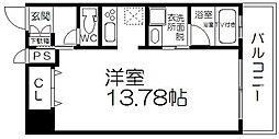 ベルファース立売堀[11階]の間取り
