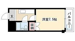 愛知県名古屋市瑞穂区前田町2丁目の賃貸マンションの間取り