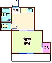 森島ハイツ[2階]の間取り
