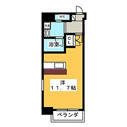 Plan Baim[5階]の間取り