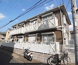 京都府京都市南区東九条西札辻町の賃貸アパートの外観