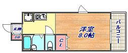 サイトピア本山[2階]の間取り
