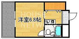 第2百合マンション[205号室号室]の間取り