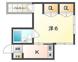 アクティブハイツ[3階]の間取り