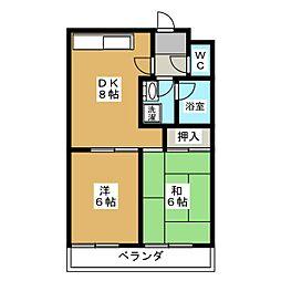 太正マンション[4階]の間取り