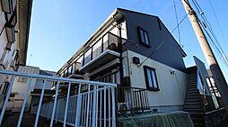 千葉県柏市緑台の賃貸アパートの外観