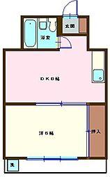 アウトバーン301号室[301号室]の間取り