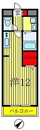 チェリー常盤平[2階]の間取り
