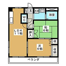Dream Excel[1階]の間取り