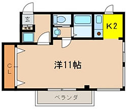 キーラゴー妙典[3階]の間取り