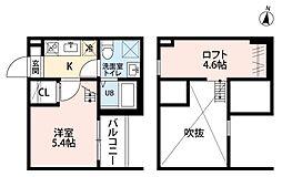 ALLURE 358(アリュール)[1階]の間取り