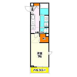 ノエルSE竹ノ塚[2階]の間取り