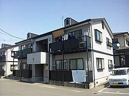 福岡県糟屋郡須惠町大字佐谷の賃貸アパートの外観