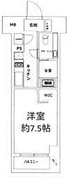 東京都豊島区東池袋1丁目の賃貸マンションの間取り