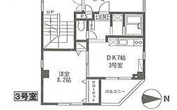飯塚ビル[403号室号室]の間取り
