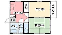 [一戸建] 兵庫県西宮市門戸西町 の賃貸【/】の間取り