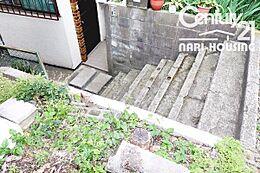 階段があります