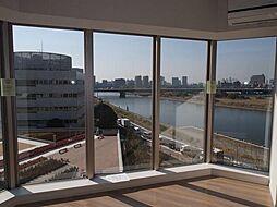リヴァリエ A棟 RiverVIew(リバービュー)[6階]の外観
