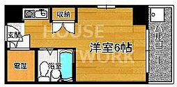 コスモリード京都今出川 (旧:サンハイツ星の子)[407号室号室]の間取り