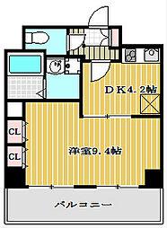 willDo堺筋本町 [5階]の間取り