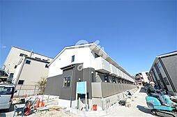兵庫県神戸市長田区房王寺町6丁目の賃貸アパートの外観