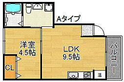 FDS AXIA[3階]の間取り