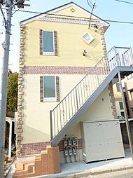 神奈川県横浜市神奈川区子安台1丁目の賃貸アパートの外観