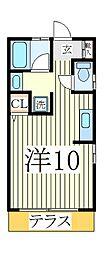 オッフェルタYK[1階]の間取り