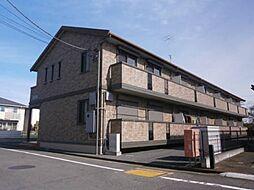 東京都青梅市新町3丁目の賃貸アパートの外観