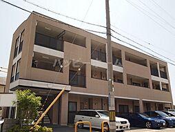 兵庫県姫路市飾磨区中島1丁目の賃貸マンションの外観