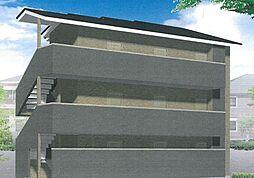 京都府京都市山科区厨子奥苗代元町の賃貸アパートの外観