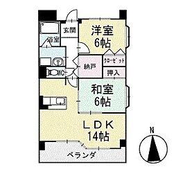 グランド・ステージ桜華 1階[101号室]の間取り