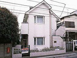 埼玉県川口市上青木西4丁目の賃貸アパートの外観
