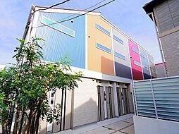 東京都練馬区石神井町4丁目の賃貸アパートの外観