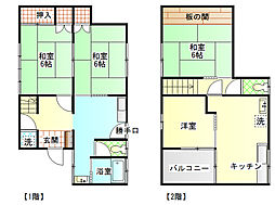 [一戸建] 静岡県富士市一色 の賃貸【静岡県 / 富士市】の間取り