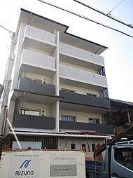 京都府京都市上京区新柳馬場頭町の賃貸マンションの外観