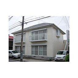 神奈川県横須賀市三春町3丁目の賃貸アパートの外観