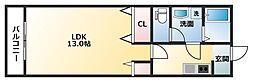 サンパワーマンションIII[3階]の間取り