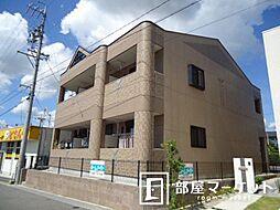 愛知県豊田市御立町7丁目の賃貸アパートの外観