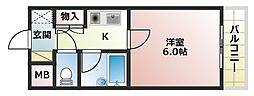 あべの恵寿ビル[8階]の間取り